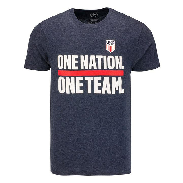 Men's '47 USA One Nation. One Team Club Navy Tee