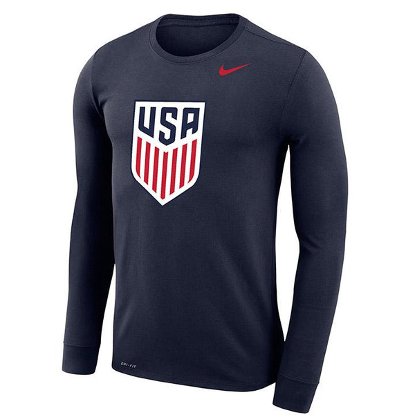 Nike Navy Legend Long Sleeve Tee