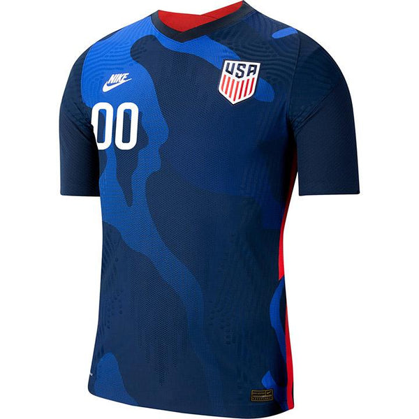 Personalized Men's Nike Crest Vapor Match Away Jersey