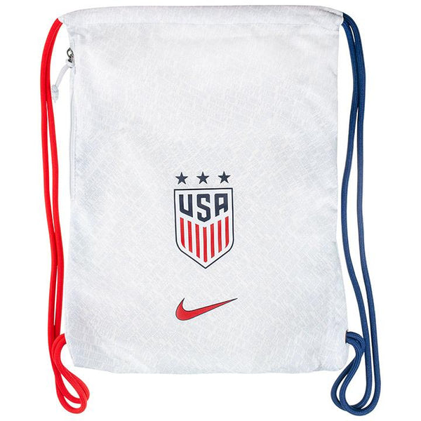 NIKE USA GYMSACK - WHITE