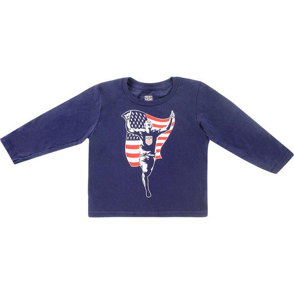 TODDLER OUTERSTUFF CREST TO THE FIELD L/S TEE