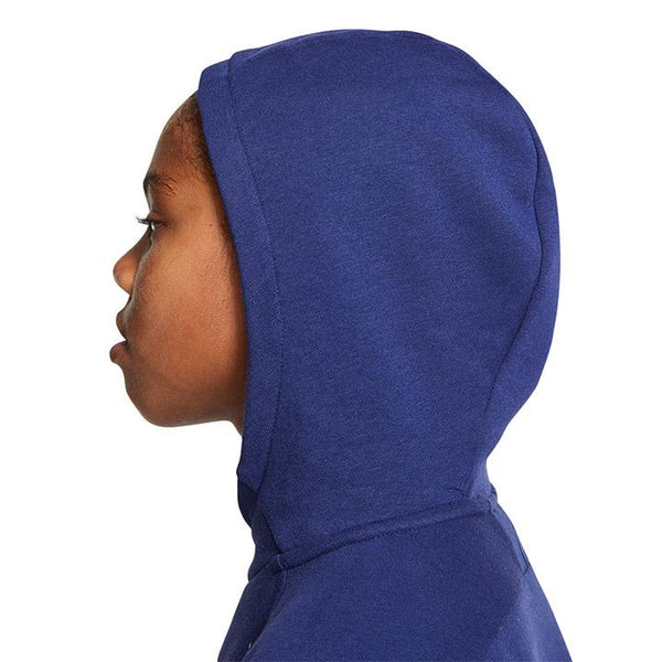 Youth Nike USA Fleece Pullover Blue Hoody
