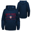 Youth Outerstuff USA Face Off Navy Hoody
