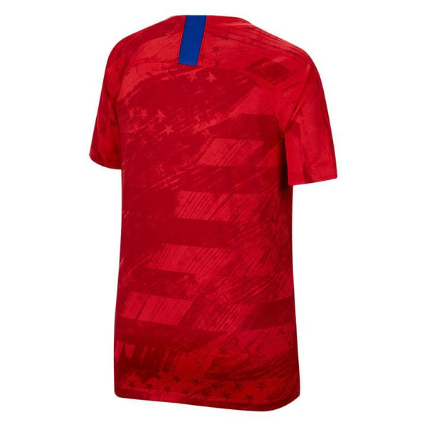 YOUTH NIKE USA BREATHE STADIUM RED AWAY JERSEY