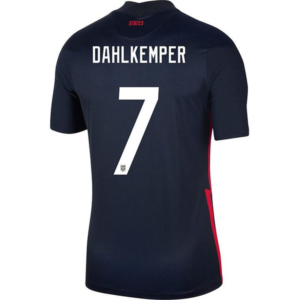 Men's Abby Dahlkemper USWNT Nike Away Navy Jersey