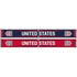 Ruffneck USA Crest Red, White and Blue Scarf