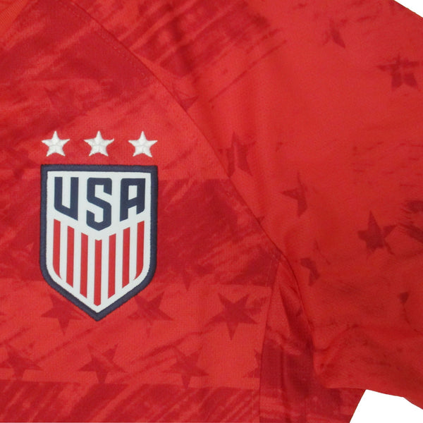 WOMEN'S NIKE USA WNT BREATHE STADIUM RED AWAY JERSEY