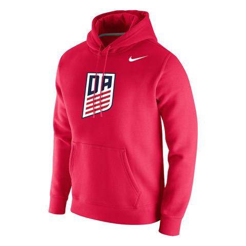 Nike Development Academy Red Stadium Fleece Hoody