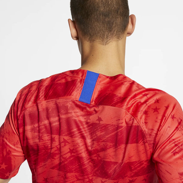 MEN'S NIKE USA BREATHE STADIUM RED AWAY JERSEY