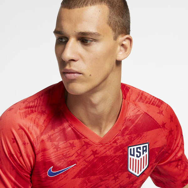 Men's Nike USMNT Stadium Away Red Jersey