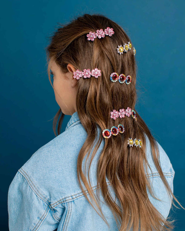 Ballet Recital Gem Hair Barrettes