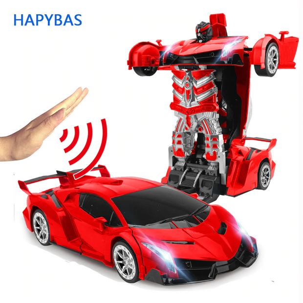 2.4Ghz Induction Transformation Robot Car