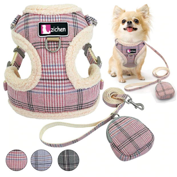 Pet Dog Harnesses Vest Chihuahua