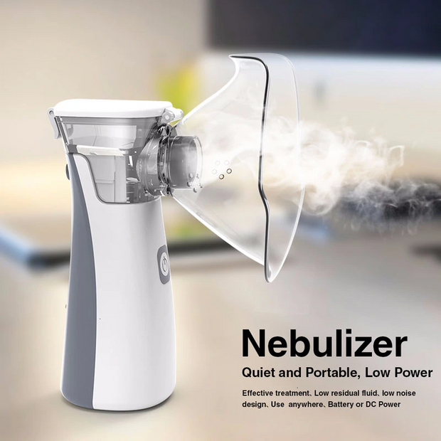 NEW  Portable silent Medical Nebulizer