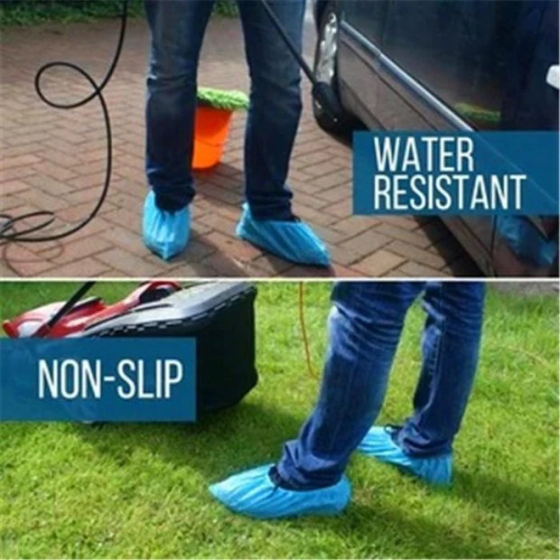 Portable Anti Slip Automatic Shoe Cover