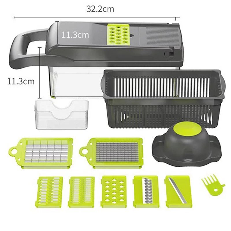 NEW 7 in 1  Multifunction Vegetable Cutter Food