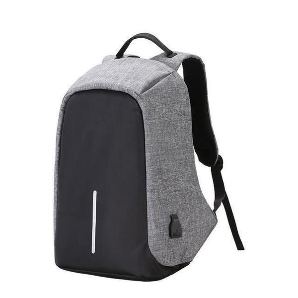 Unisex Backpack Anti Theft With USB Charging Laptop Business and Travel Bag