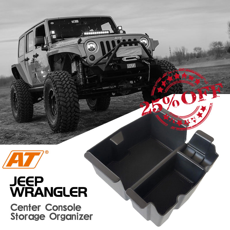 Jeep Wrangler JK/JKU Center Console Organizer Storage Box Accessories