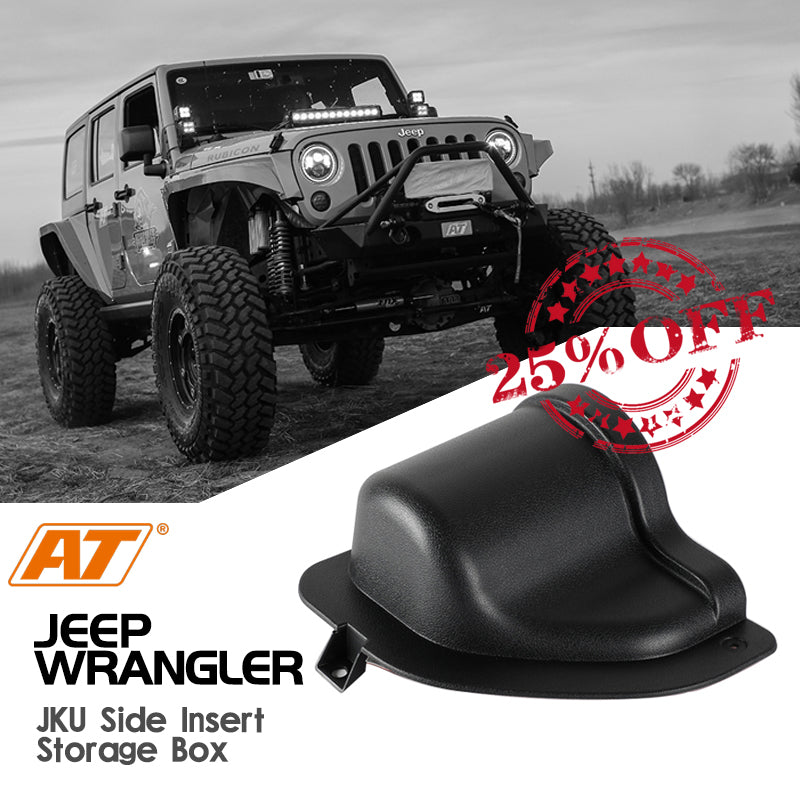 Jeep Wrangler JK/JKU Door Side Inner Storage Box