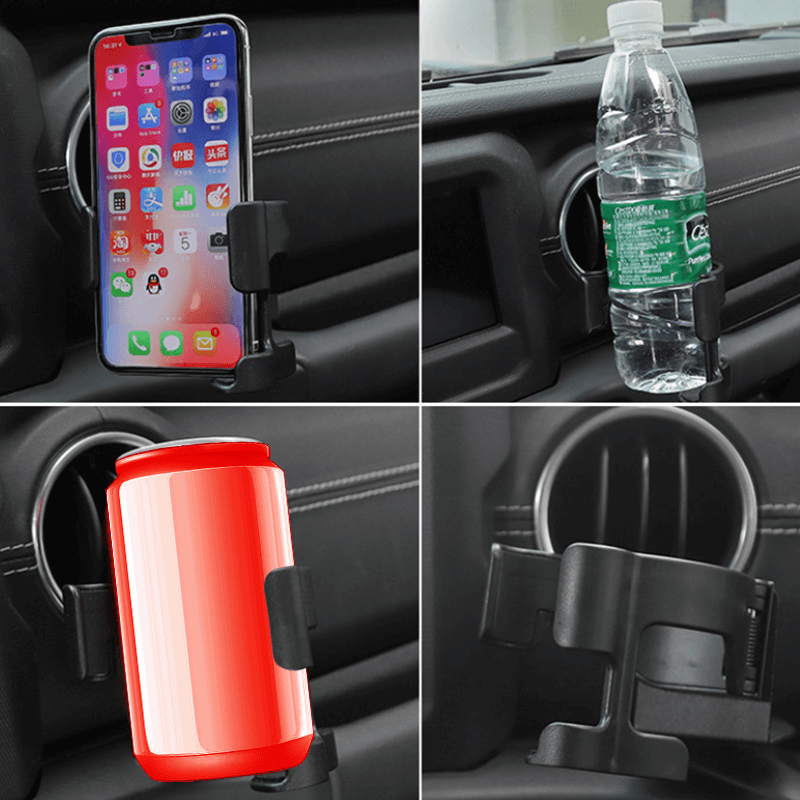 Jeep Wrangler Multi-Function Cup&Phone Holder
