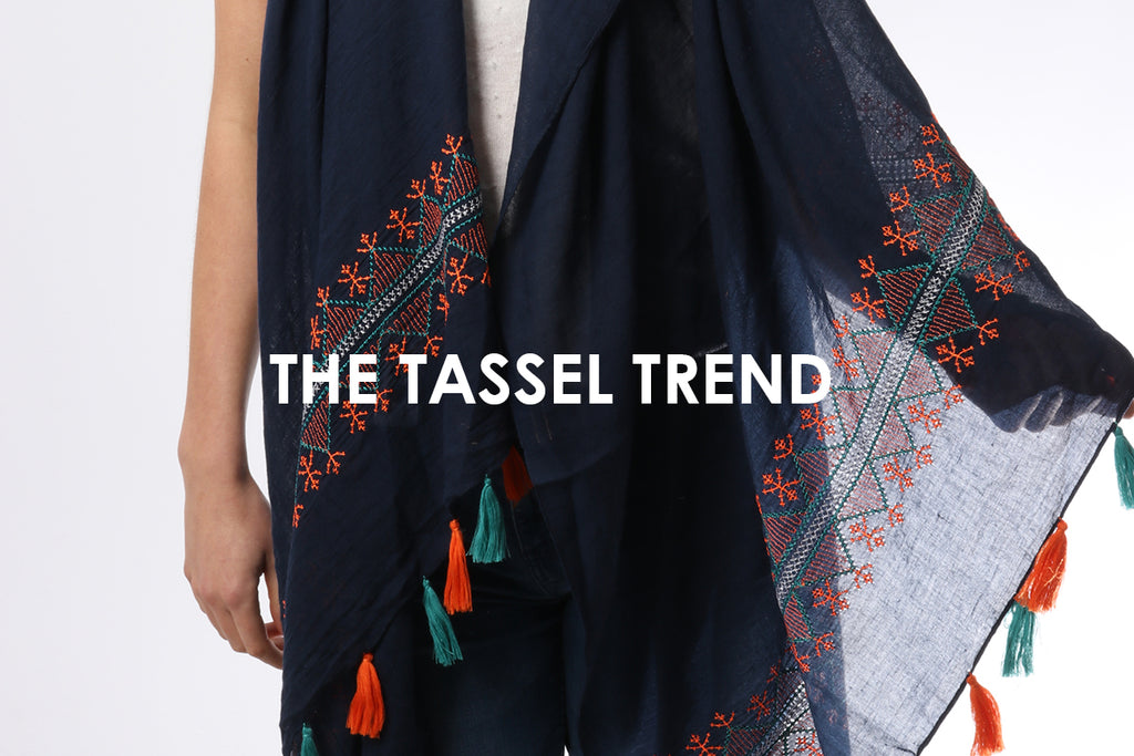 The Tassel Trend - Provide those Summer Vibes