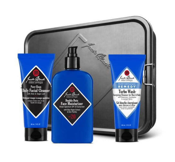 Jack Black Triple Play Holiday Gift Set