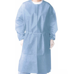 Disposable PP Isolation Gown (Medium Weight, FDA Approved)