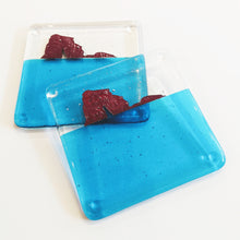Load image into Gallery viewer, Thurlestone Rock fused glass coaster