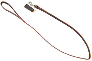 "Circle T Latigo Leather Lead 4' Long x 3/4"" Wide - All Pets Store"
