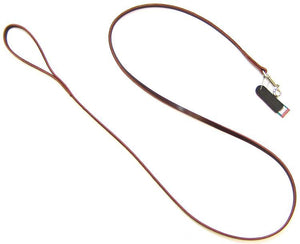 "Circle T Latigo Leather Lead 6' Long x 3/8"" Wide - All Pets Store"