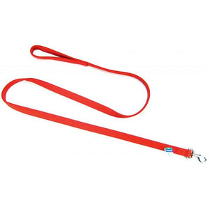 "Coastal Pet Double Nylon Lead - Red 72"" Long x 1"" Wide - All Pets Store"