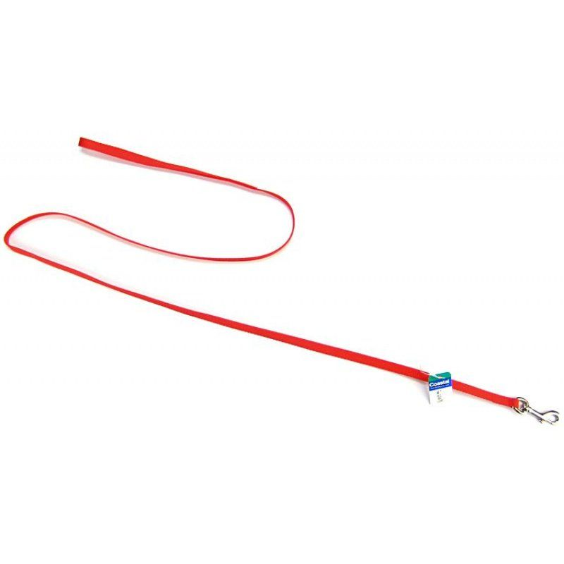 "Coastal Pet Nylon Lead - Red 4' Long x 3/8"" Wide - All Pets Store"