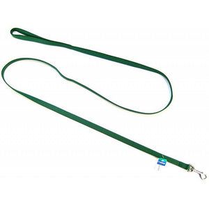 "Coastal Pet Nylon Lead - Hunter Green 6' Long x 5/8"" Wide - All Pets Store"