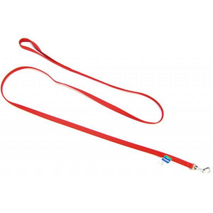 "Coastal Pet Nylon Lead - Red 6' Long x 5/8"" Wide - All Pets Store"