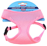 "Coastal Pet Comfort Soft Adjustable Harness - Pink XX-Small - Dogs 5-7 lbs -(Girth Size 14""-16"") - All Pets Store"