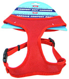 "Coastal Pet Comfort Soft Adjustable Harness - Red Small - 3/4"" Wide (Girth Size 19""-23"") - All Pets Store"