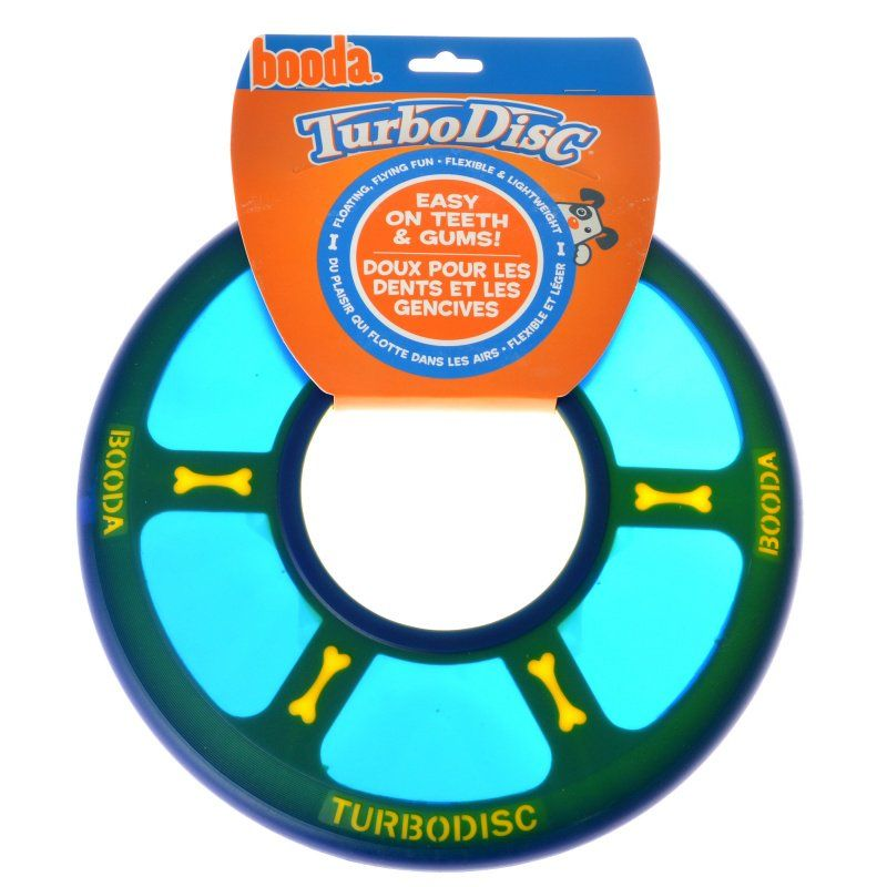 "Booda Soft Bite Turbo Disk 10"" Diameter - All Pets Store"