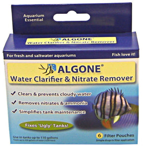 Algone Water Clarifier & Nitrate Remover Up to 110 Gallons - All Pets Store