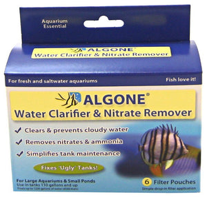 Algone Water Clarifier & Nitrate Remover Over 110 Gallons - All Pets Store