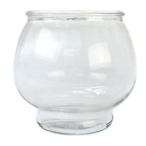 Anchor Hocking Footed Fish Bowl 1/2 Gallon - All Pets Store