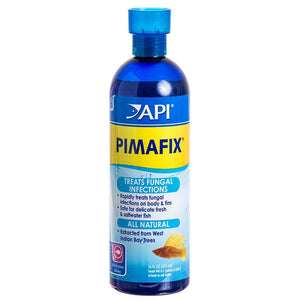 API PimaFix Antifungal Fish Remedy 16 oz Bottle (Treats 946 Gallons) - All Pets Store