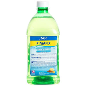 API PimaFix Antifungal Fish Remedy 60 oz Bottle (Treats 3,786 Gallons) - All Pets Store