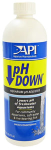API pH Down Aquarium pH Adjuster 16 oz - All Pets Store