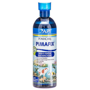PondCare PimaFix Antifungal Remedy for Koi & Goldfish 16 oz (Treats 2,400 Gallons) - All Pets Store