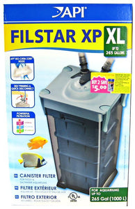Rena API Filstar XP Canister Filter Filstar XP4 X-Large (450 GPH - Up to 265 Gallons) - All Pets Store