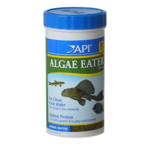 API Algae Eater Premium Algae Wafers 6.4 oz - All Pets Store