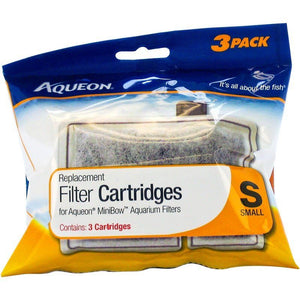 Aqueon QuietFlow Replacement Filter Cartridge Small (3 Pack) - All Pets Store