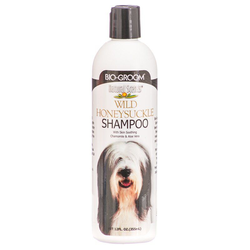 Bio Groom Natural Scents Wild Honeysuckle Shampoo 12 oz - All Pets Store