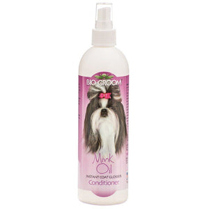 Bio Groom Mink Oil Spray 12 oz - All Pets Store