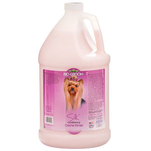 Bio Groom Silk Cream Rinse Conditioner 1 Gallon - All Pets Store
